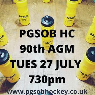 PGSOB 90th AGM