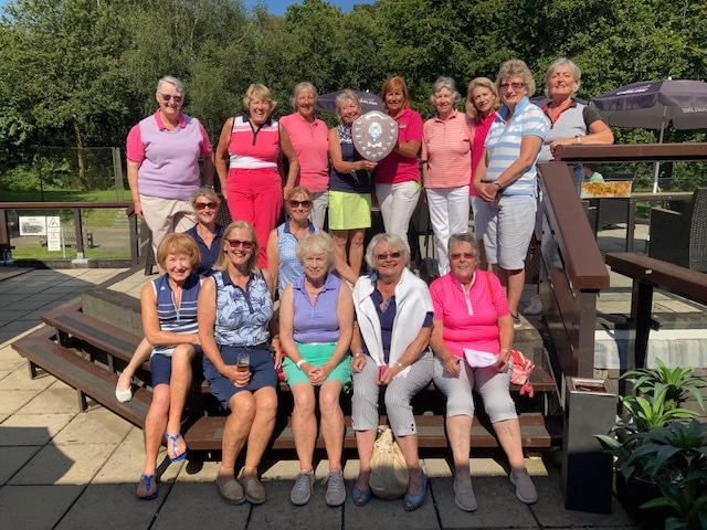 Ladies vs Vets 11th August 21 - Ladies were the winners 6 games to 5 all down to the last group out