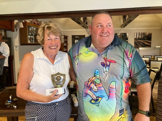 Heather Day wins Longest Drive for the Ladies