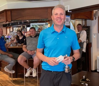 Winner of Club Championship Nick Workman with a Gross score of 74