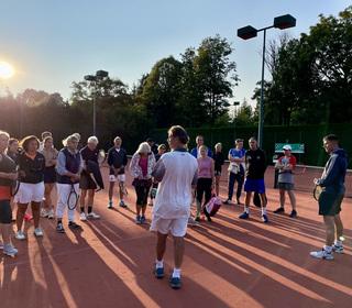 our fantastic Head Coach Patrick explaining the rules.