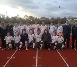 Cannock U16s Squad in Burton - October 2012