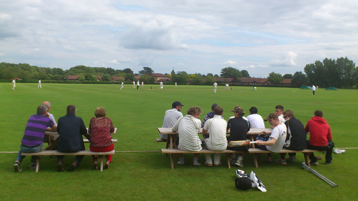 A full home stand at Bretton Gate watching the Saturday 2nds.
