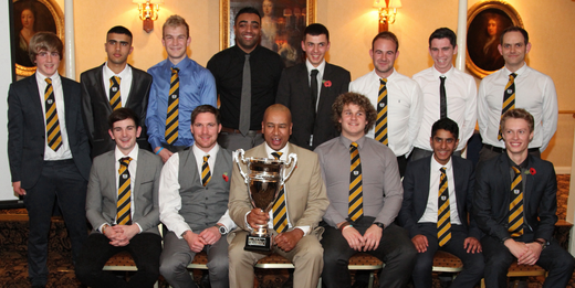 Members of the 2nd XI that won Northants League Division 2.