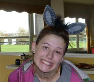 Donkey award to Abby