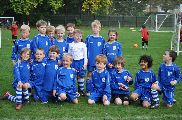 Marlow Youth U7's v Flackwell Heath U7's
