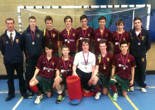 Cannock U16s Indoor Midlands Qualifiers Squad 2012