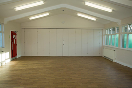 Brentwood Cricket Club Hall.