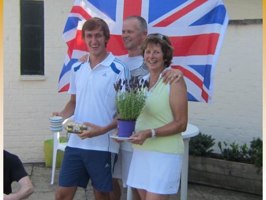 Harry Parkinson Beer Shuffle Winner 2012