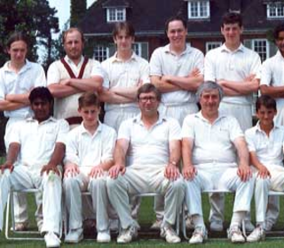 Sunday 3rd XI: (Back Row)  Paul Trew, Chris Norris, Steve Miller, Michael Davey, Dave Murphy, Roger Mahadeo; (Front Row) Shane Surujbally, Richard Smith, Ken Hobbs, Mick Roach, Ian Belchamber