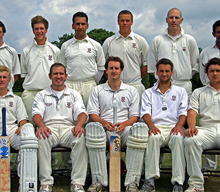 Back Row: Ronnie Saunders, Sam Pountney, Gulfraz Muwas, Max Osborne, Richard Walford, Nuwan Shiroman; Front Row: Aaron West, Ben Cocklin, Jon Walford (Captain), Ian Belchamber, James Redwood
