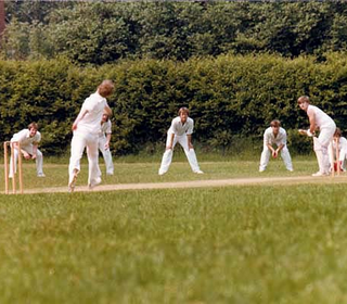 Paul Lattimore in action  (Photo taken by Phil Lattimore - possibly Bentley in 1984.)