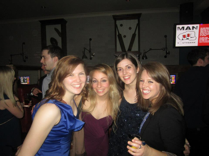 Laura, Smorgs, Elle and Skirrow!