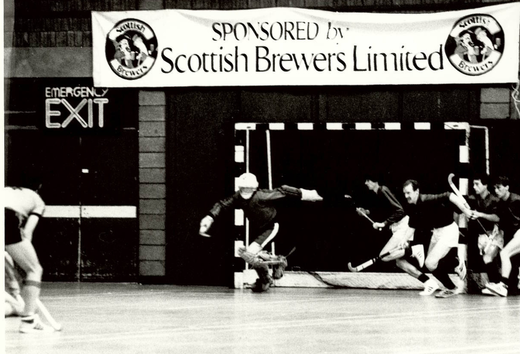 Scottish cup1st round 13-3 win against Hazelhead(1982)