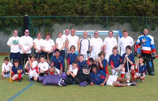 Lads v Dads 2009 (dads won .... again)