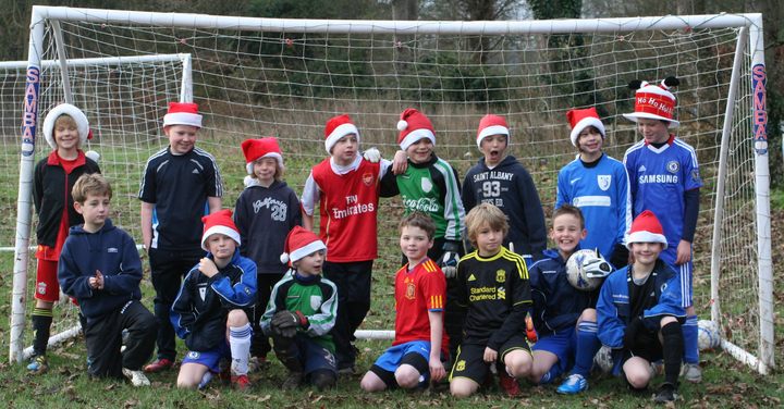 A Very Merry Christmas From Marlow Royals U9's