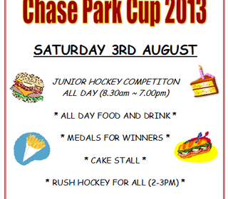 Chase Park Cup 2013