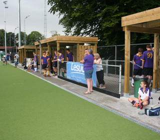 @ Parc Hockey - first ever match on new pitch