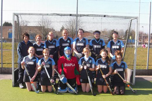 Ladies 2nd team 2012/13