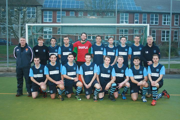 Men's 1st team 2012/13
