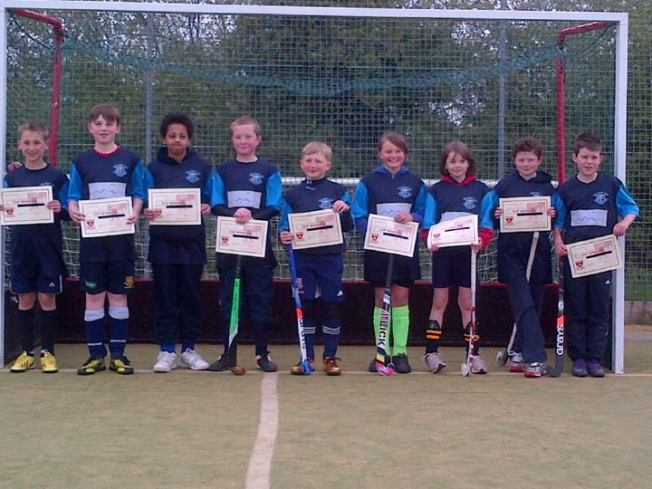 Crewe Vagrants U12s Tournament Winners