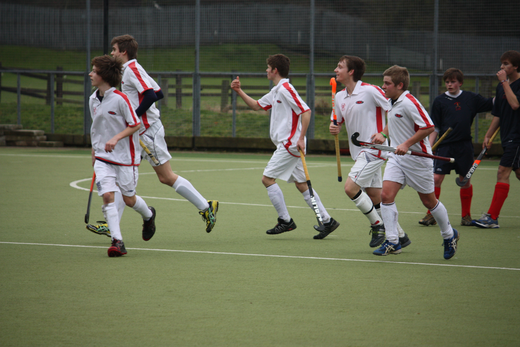 First goal clecbrations