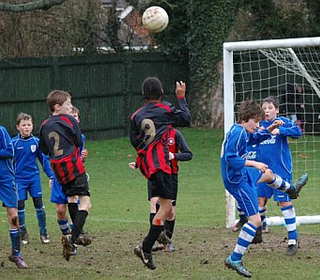 Marlow Youth U11s v Bucks CC - League Cup Q-Final