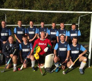 LHC Men's Veterans Cup Squad 2013/14