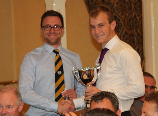 Alex Mitchell won the Sunday 1st XI player of the year