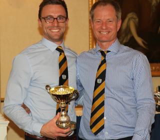 Sunday 1st XI skipper and junior coach Jamie Smith was clubman of the year