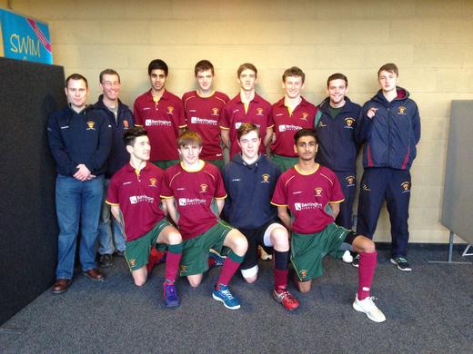 Cannock U18s Indoor Midlands Finals 2014-14