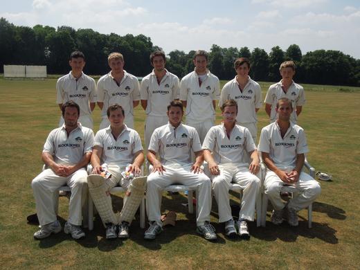First XI 2013 vs Tichborne Park