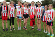 Juvenile Girls Cross Country Team