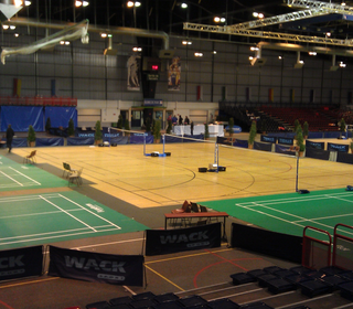 The awesome venue in Paris. 17 courts!