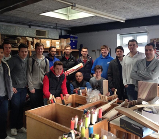Club trip to Gray Nicolls' bat factory in Robertsbridge, East Sussex