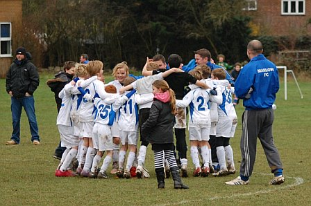 Marlow FC U11's Youth v Burnham Juniors - League Cup Semi -Final