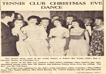 Club Dance 1958