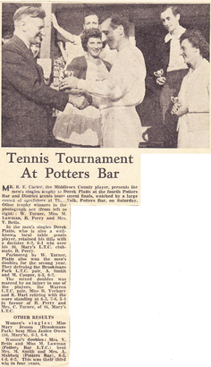 Club Tournament 1960