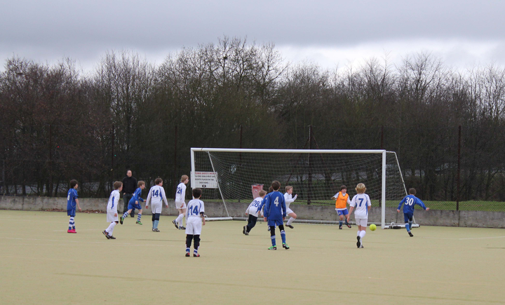 Marlow Royals U11s vs. Marlow Town U11s, 13th March 2011