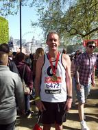 Paul McKendrey at London Marathon