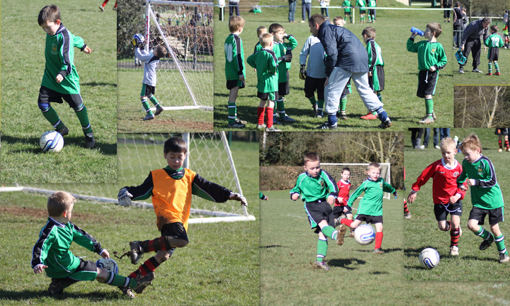 Under 7's  v Castle Colts