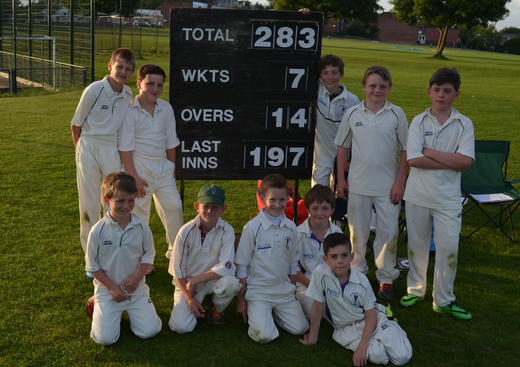 u10s delighted to win against Cambridge Granta u10s