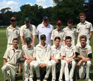 u15 District Cup Winning Side