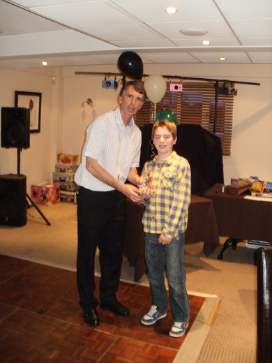 Junior Awards Winner