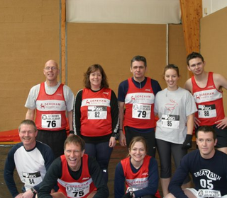 Derreham Runners visit to Caudebec-Les -Elbuef, 12th March 2006.
