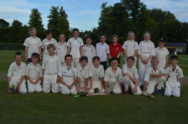 u10 boys and u12 girls after a game on 3/7/14