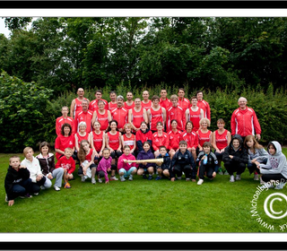 Club Photograph 2012 with the Olympic Torch.