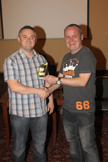 Awards 2014 - 2nds Top Goal Scorer - Chris Tibble