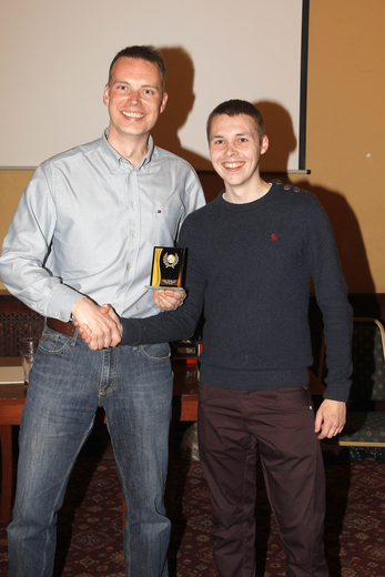 Awards 2014 - Indoor Player of the Season - Alan Brown