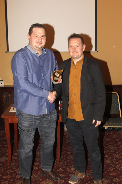 Awards 2014 - 1st Top Goals Scorer - Mark Wilson